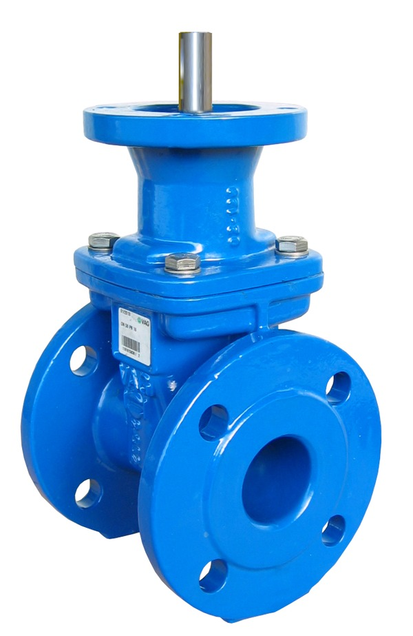 VAG EKO<sup>®</sup><em>plus </em>Gate Valve prepared for electric actuator