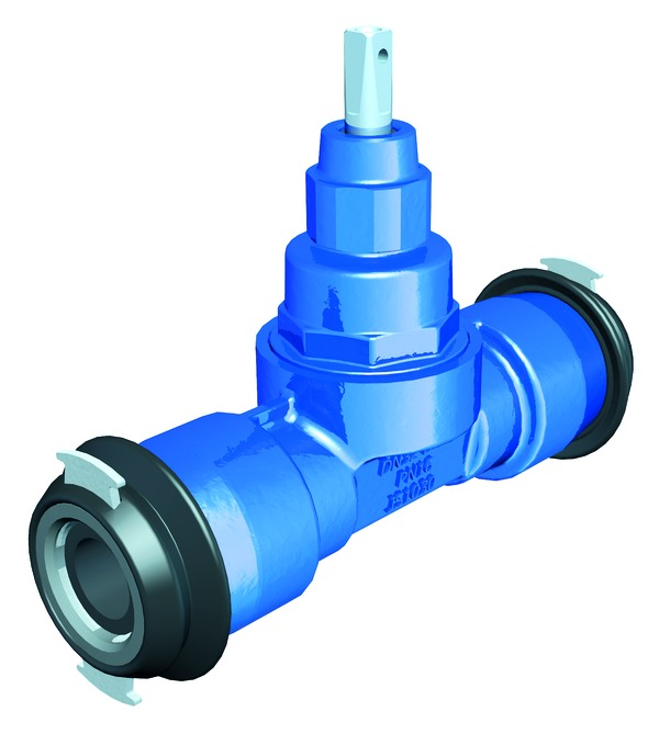 VAG TERRA<sup><sup>®</sup></sup>lock tapping valve fitting/fitting