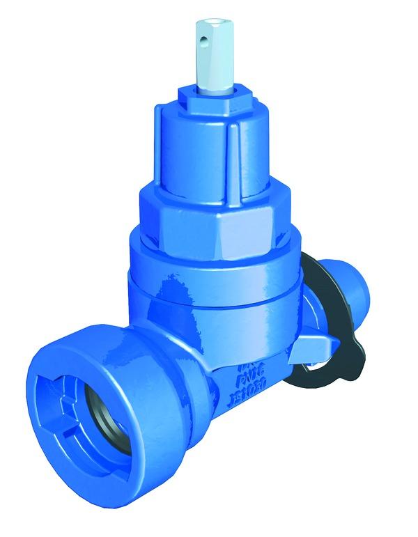 VAG TERRA<sup><sup>®</sup></sup>lock tapping valve spigot/socket