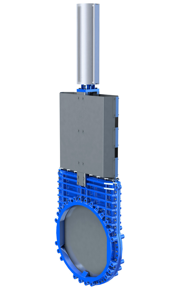 VAG ZETA<sup><sup>®</sup></sup> Knife Gate Valve <span>with pneumatic actuator</span>