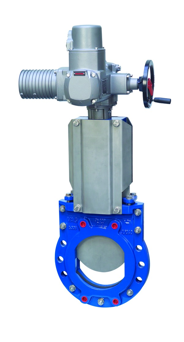 VAG ZETA<sup><sup>®</sup></sup> Knife Gate Valve <span>with electric actuator</span>