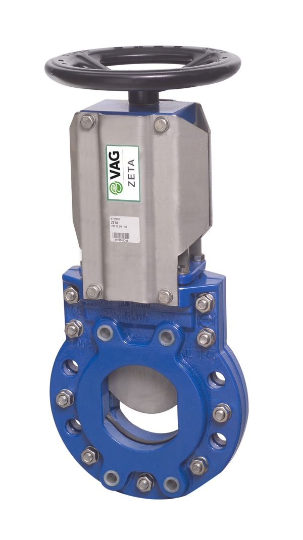 VAG ZETA<sup><sup>®</sup></sup> Knife Gate Valve <span>with handwheel</span>