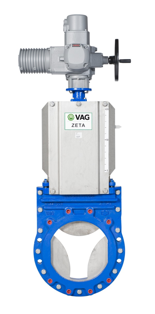 VAG ZETA<sup><sup>®</sup></sup>control Knife Gate Valve <span>with electric actuator</span>
