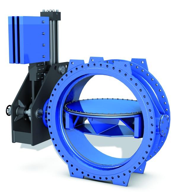 VAG EKN® H1200 Butterfly Valve turbine inlet